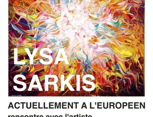 Exposition personnelle Théâtre de l'Européen Paris – Octobre 2016